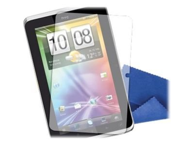 Griffin TotalGuard Screen Protector and Cleaning Cloth for HTC Flyer, GB03679, 13510704, Protective & Dust Covers