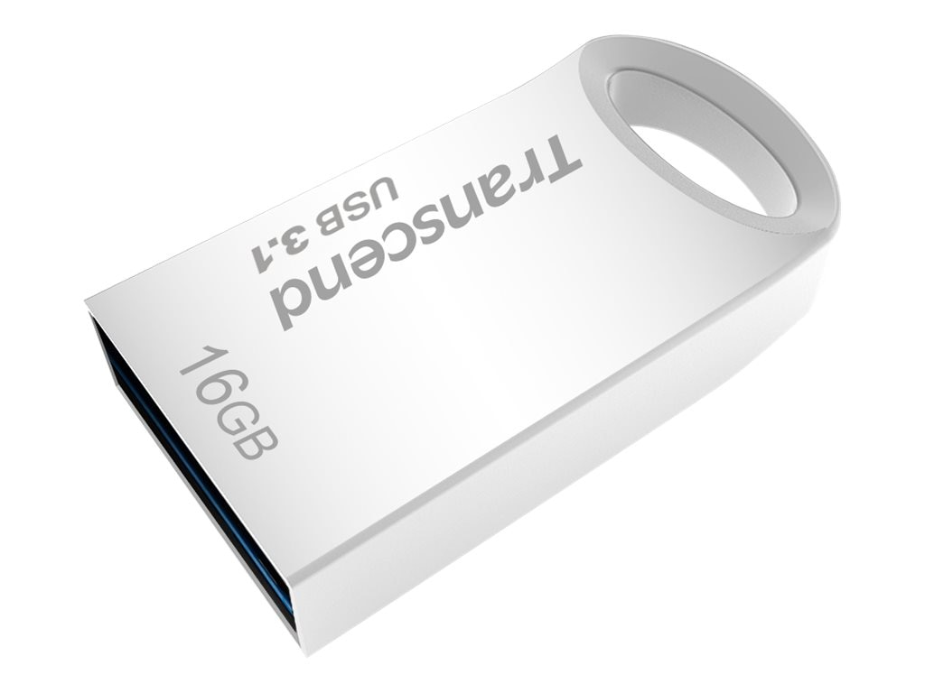 Transcend 16GB JetFlash 710 USB 3.0 Flash Drive, Silver, TS16GJF710S
