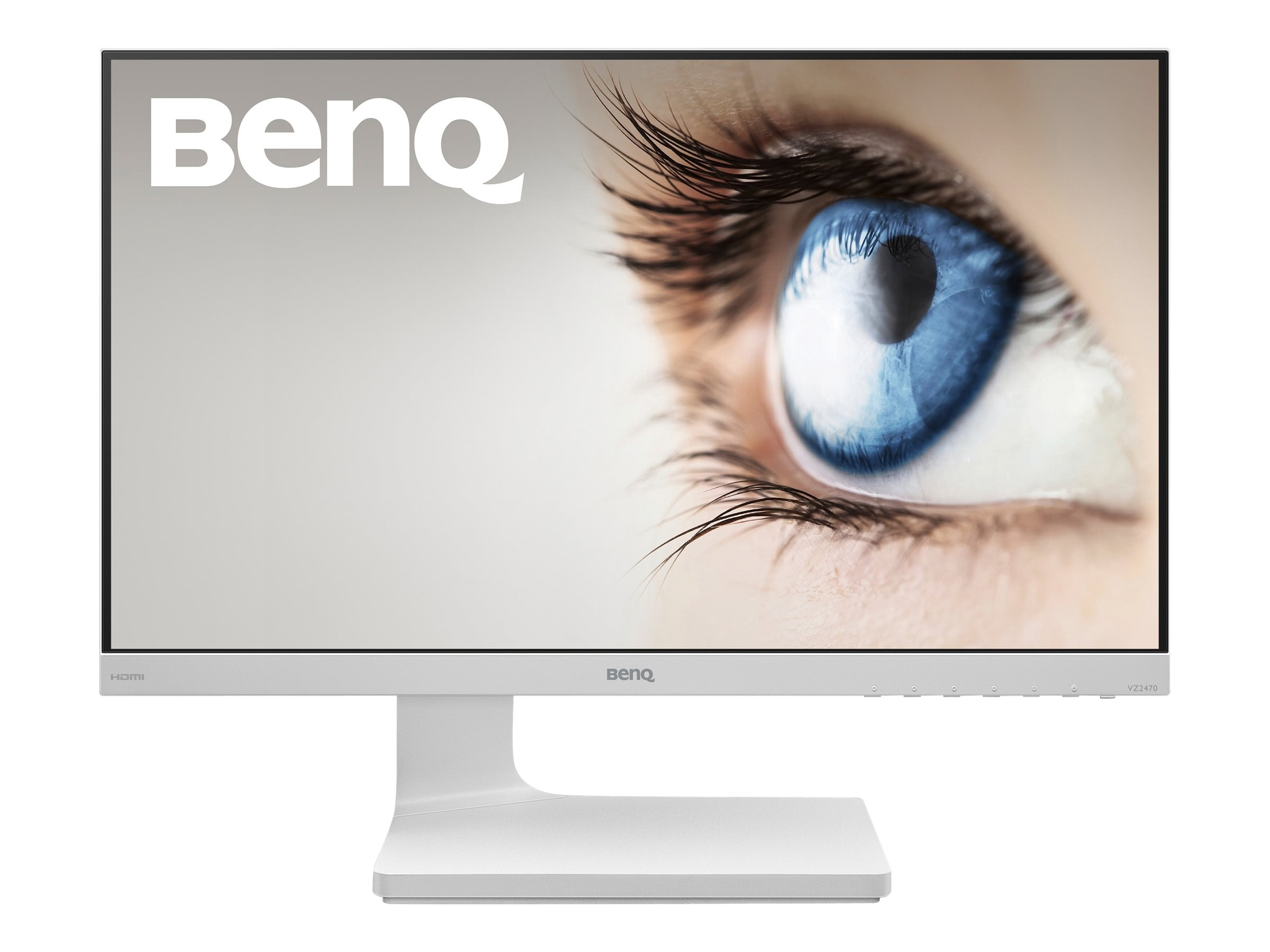 Benq 23.8 VZ2470H Full HD LED-LCD Monitor, White, VZ2470H, 30660739, Monitors - LED-LCD