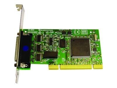 Brainboxes 4-Port RS232 PCI Serial Card Opto Isolated TX,RX,GND,CTS & RTS, UC-083, 15251208, Controller Cards & I/O Boards