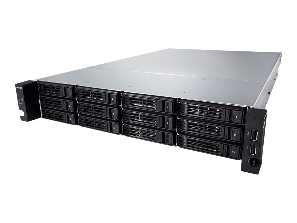 BUFFALO 96TB TeraStation 7120R Enterprise Storage, TS-2RZH96T12D