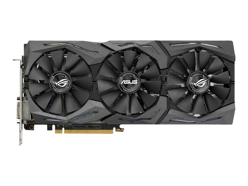 Asus NVIDIA GeForce GTX 1070 PCIe 3.0 Graphics Card, 8GB GDDR5, STRIXGTX1070O8GGAME