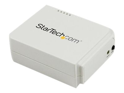 StarTech.com 1 Port USB Wireless N Network Print Server with 10 100 Mbps, PM1115UW, 14882913, Network Print Servers
