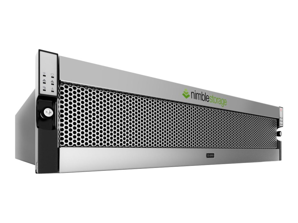Nimble 12TB CS220 2x10GigE + 2x1GigE High Performance Storage - 1.2TB Flash Cache, CS220G-X4, 16581313, SAN Servers & Arrays