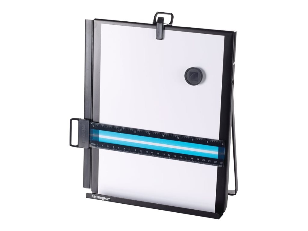 Kensington Metal Letter Size Copyholder, Black, S7062046B, 14689419, Office Supplies
