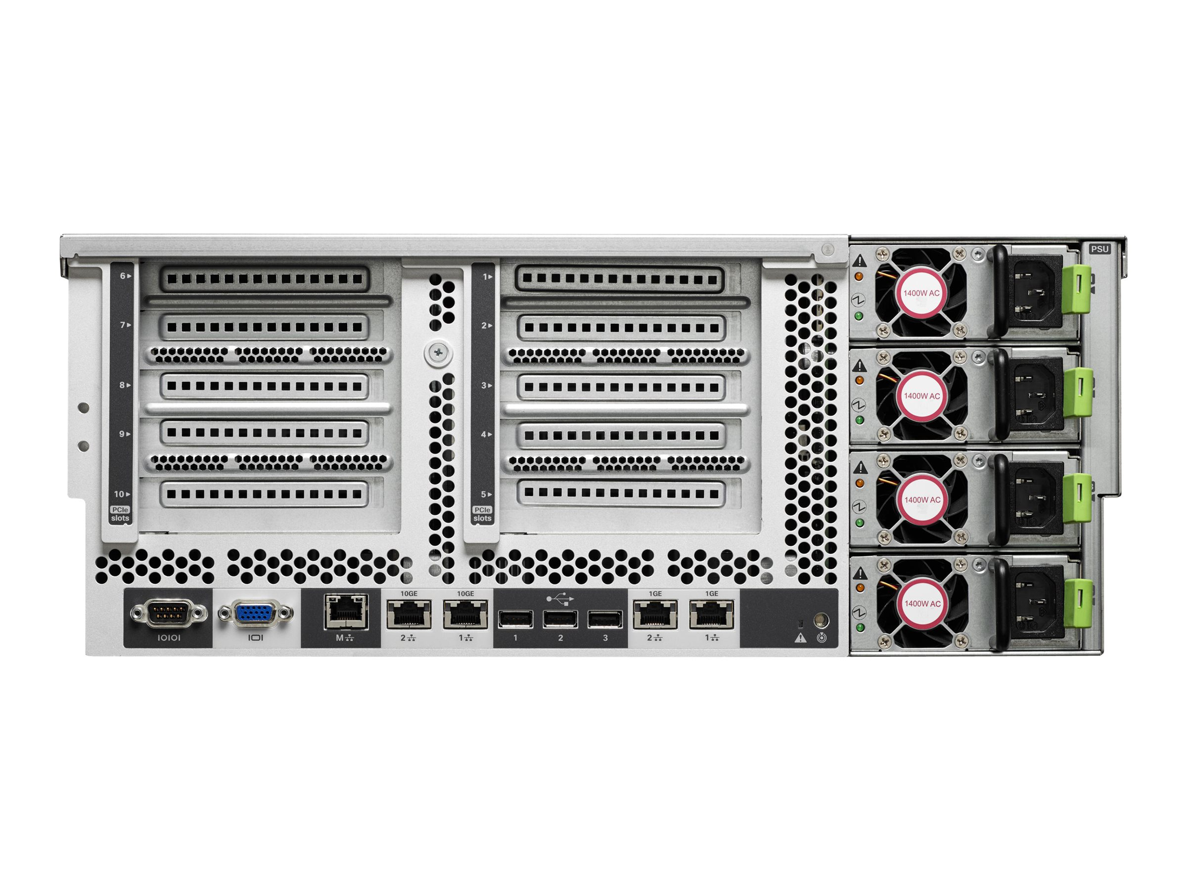Cisco UCS C460 M4 4U Rack Server (4) Xeon E7-4880v2 1TB RAM 900GB, UCS-SA-C460M4-03