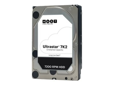 HGST 1TB SATA 7.2K RPM Ultra 512n SE 3.5 Internal Hard Drive - 128MB Cache