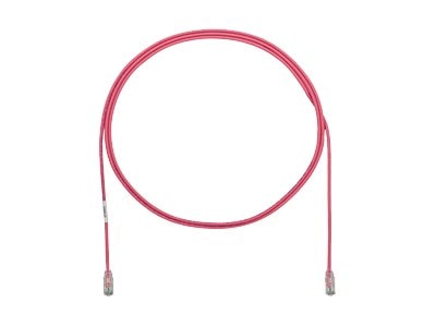 Panduit Cat6e 28AWG UTP CM LSZH Copper Patch Cable, Pink, 5ft