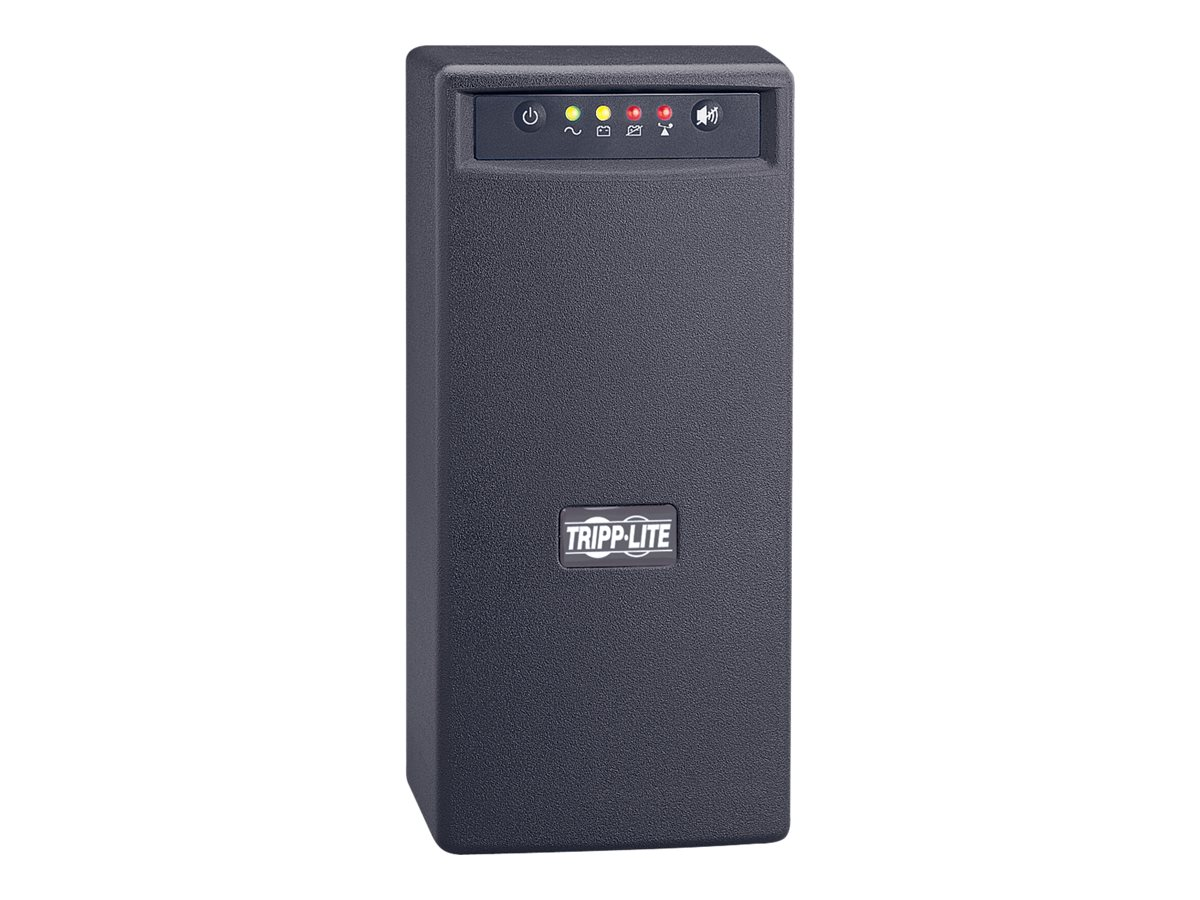 Tripp Lite OmniVS Series 1000VA Tower Line-Interactive 120V UPS (8) Outlets w  USB Port, OMNIVS1000, 468660, Battery Backup/UPS