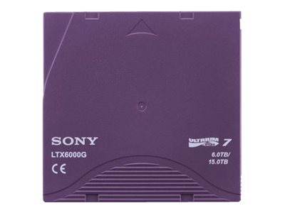 Sony LTO-7 Bar Code Tape Cartridge Library Pack