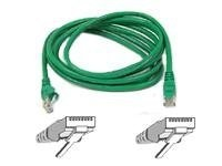 Belkin FastCAT 5e Patch Cable, Green, Snagless, 14ft, A3L850-14-GRN-S, 110687, Cables