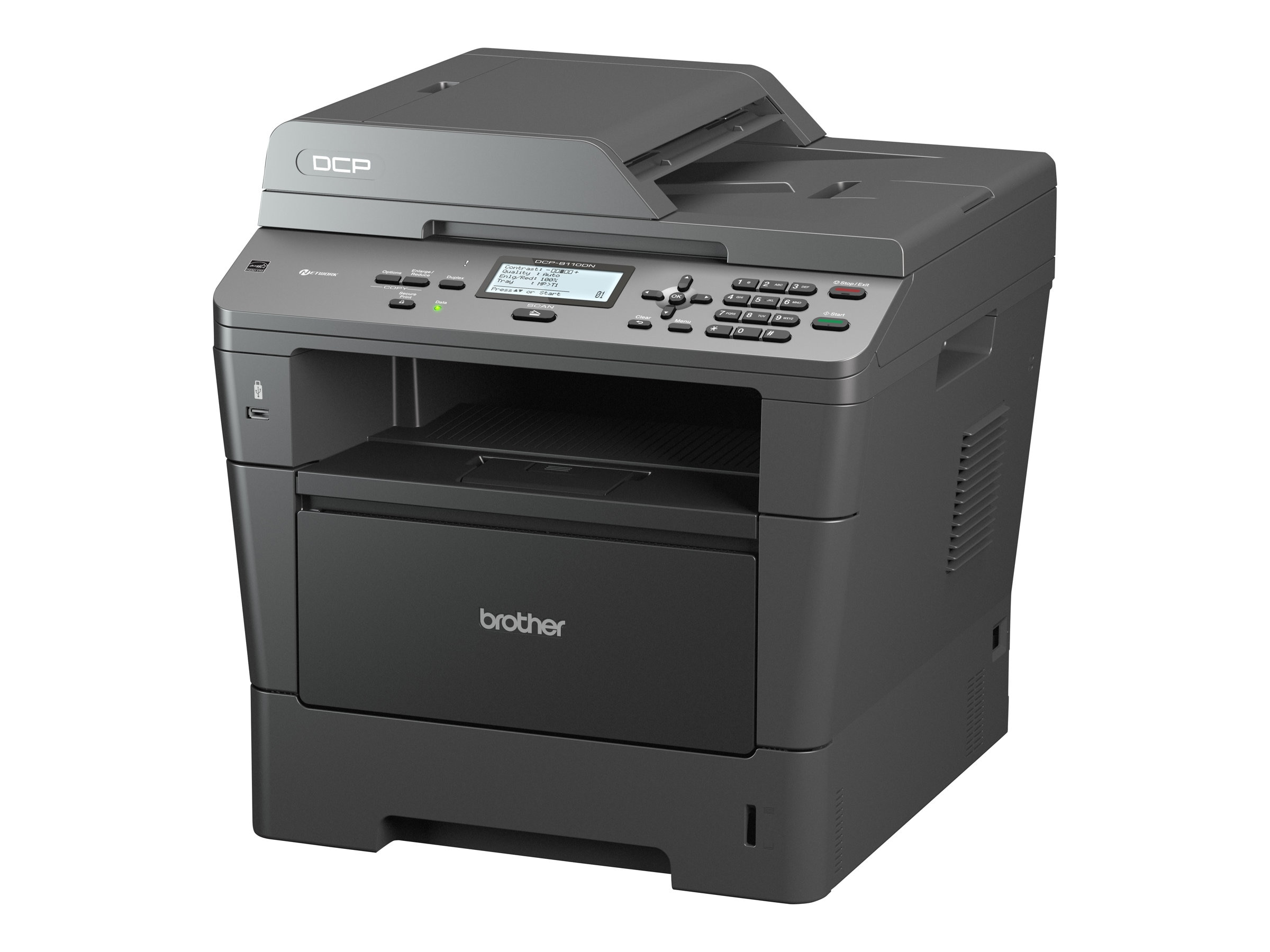 Brother DCP-8110DN Mono Laser Multifunction Copier, DCP-8110DN, 14417472, MultiFunction - Laser (monochrome)