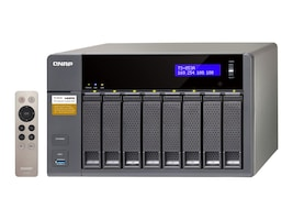 Qnap TS853A 8-Bay Professional Grade Intel QuadCore 16GHZ CPU NAS, TS-853A-4G-US, 31069861, Network Attached Storage