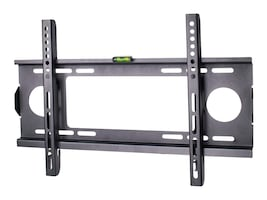 Siig Low-Profile Universal Wall Mount for 23-42 Flat Panels, Black, CE-MT0H11-S1, 12692577, Stands & Mounts - AV