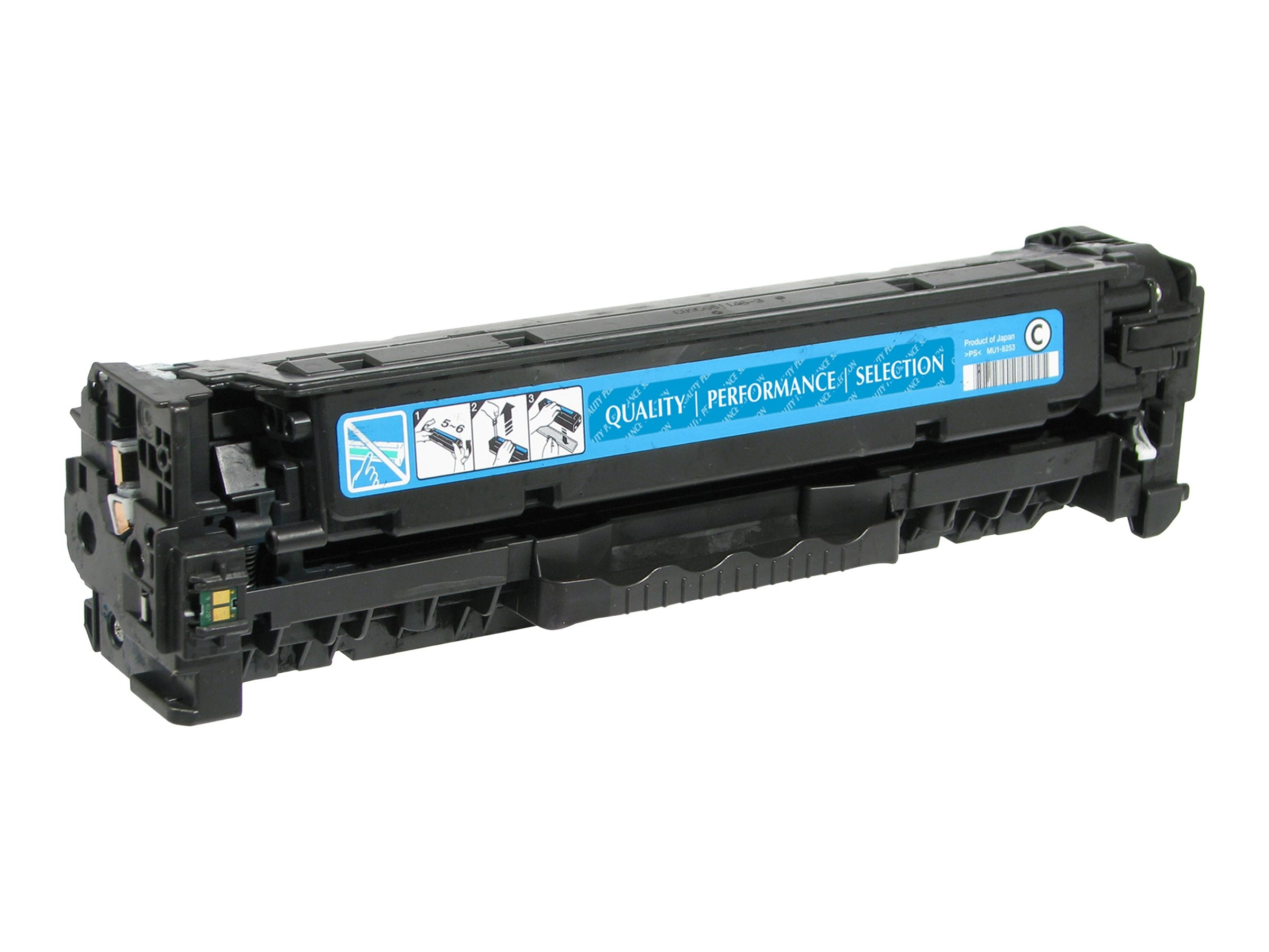 V7 CC531A Cyan Toner Cartridge for HP Color LaserJet CP2025 (TAA Compliant)