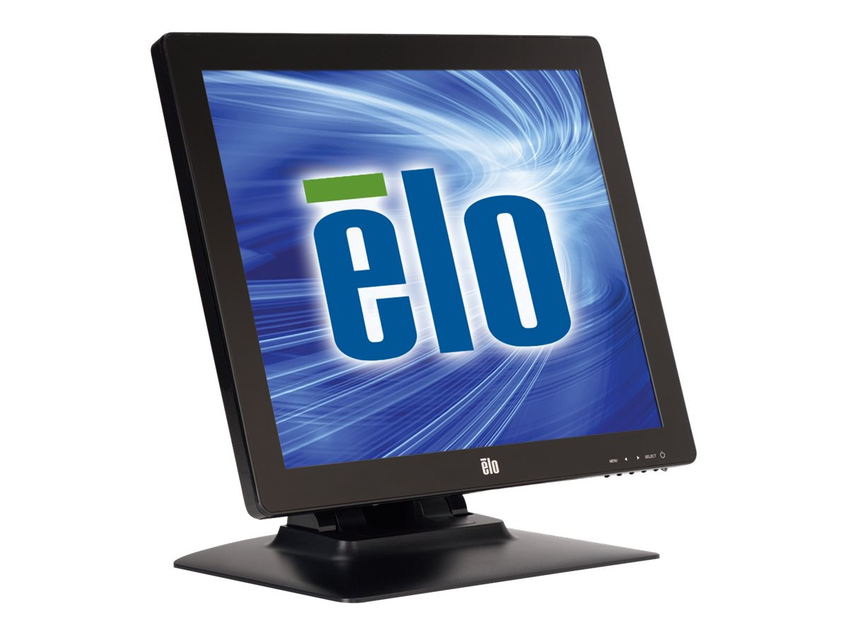 ELO Touch Solutions 17 1723L LCD iTouch Plus Monitor, Black, E785229