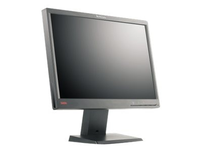 Open Box Lenovo 19 LT1952P ThinkVision Widescreen LCD Monitor, Black, 2448MB6
