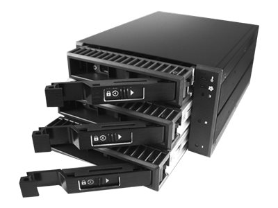 Vantec EZ Swap M3500 Series 3-Bay 3.5 Mobile Rack, MRK-M3503T