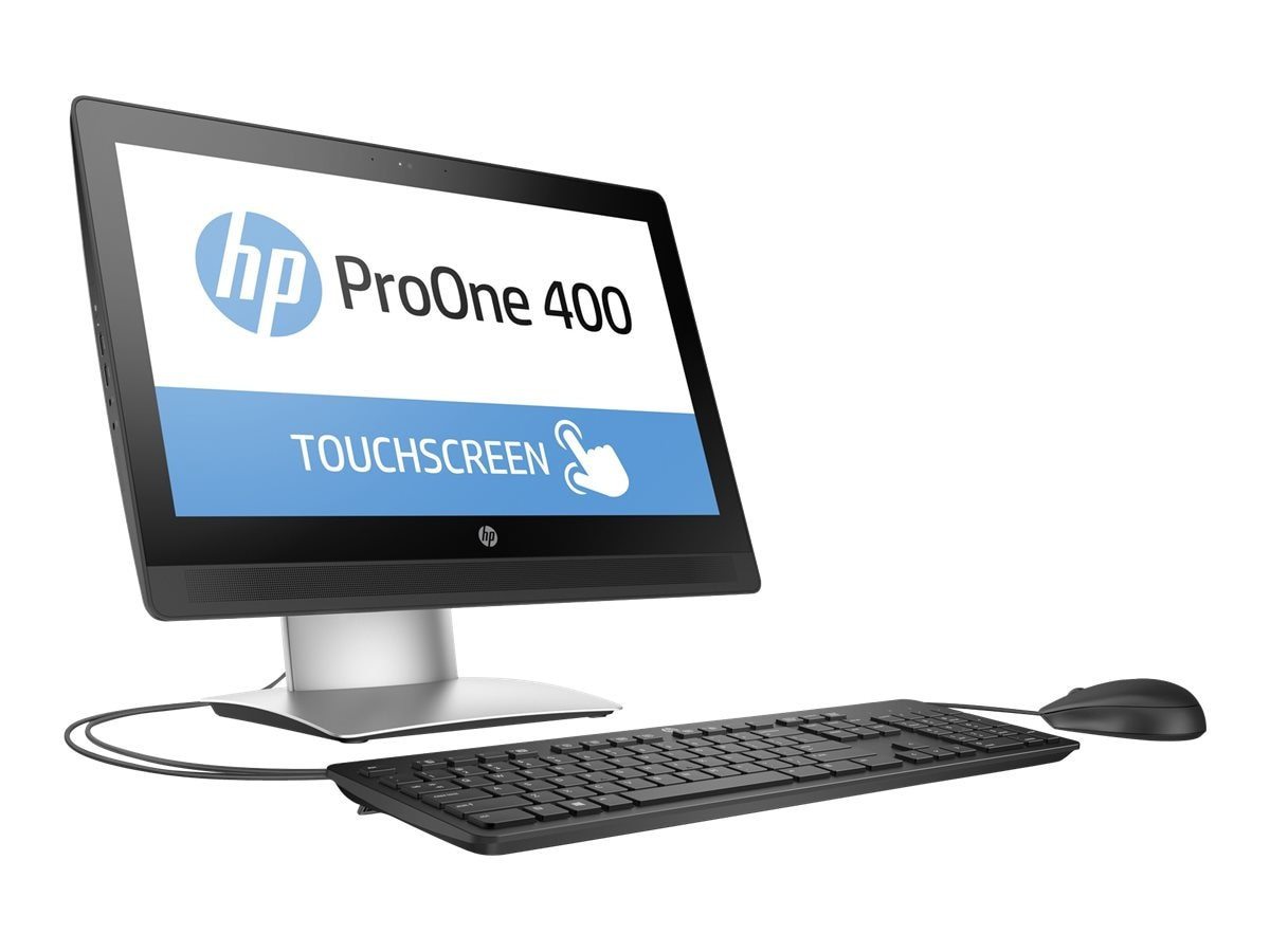 HP ProOne 400 G2 AIO Core i3-6100 3.7GHz 4GB 500GB DVDRW 20 HD MT GbE ac BT WC W7P64-W10P, W5Y45UT#ABA