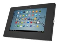 Compulocks Galaxy Enclosure Note 10.1 , Tab1 10.1, Tab2 10.1 Enclosure Galaxy  Wall Mount, Full Metal, Black