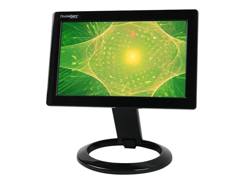 DoubleSight 7 Smart USB LCD Monitor, Black, DS-70U, 10421335, Monitors - LCD
