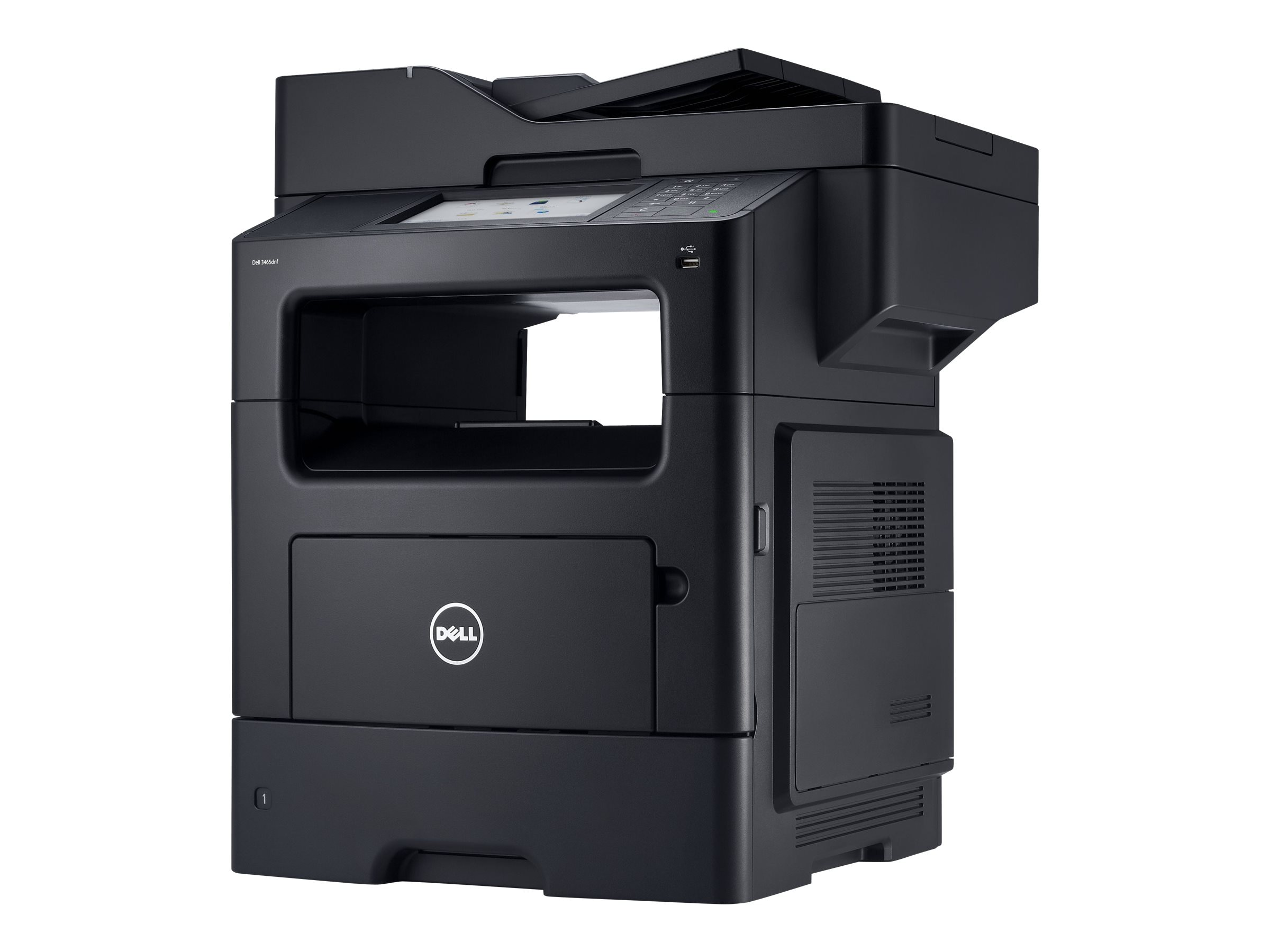 Dell B3465dnf Mono Laser Multifunction Printer, 80W0K, 15702161, MultiFunction - Laser (monochrome)