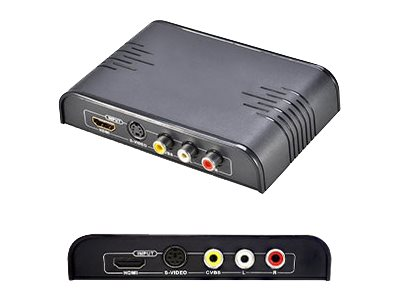 ACP-EP HDMI to Composite Converter with Audio, Black, 5-Pack, HDMI2COMPOSITE-5PK