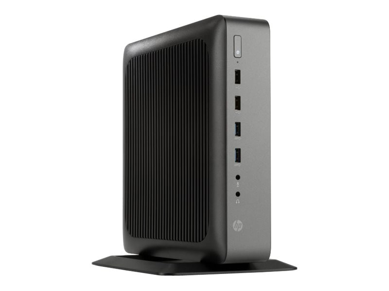 HP t620 PLUS Flexible Thin Client AMD QC GX-420CA 2.0GHz 4GB RAM 16GB Flash HD8400E Fiber WES7E, K1L95UA#ABA