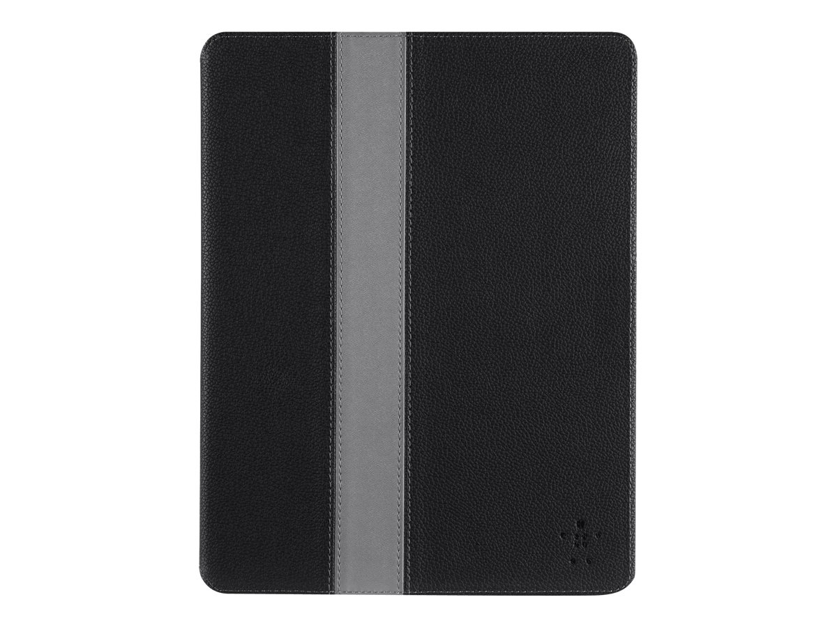 Belkin Cinema Stripe iPad Case w  Stand for iPad 2, iPad 3rd, 4th Gen, Blacktop Gravel, F7N288B1C00, 30007060, Carrying Cases - Other