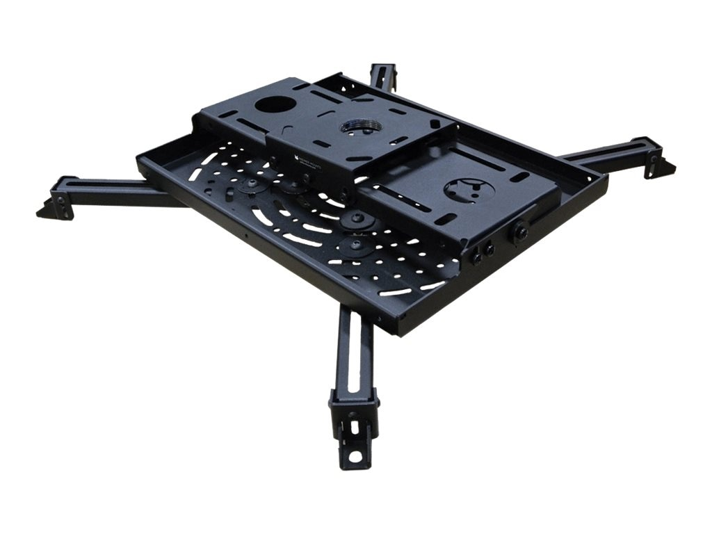 Premier Mounts Heavy Duty Universal Projector Mount for up to 125 Pounds, Black