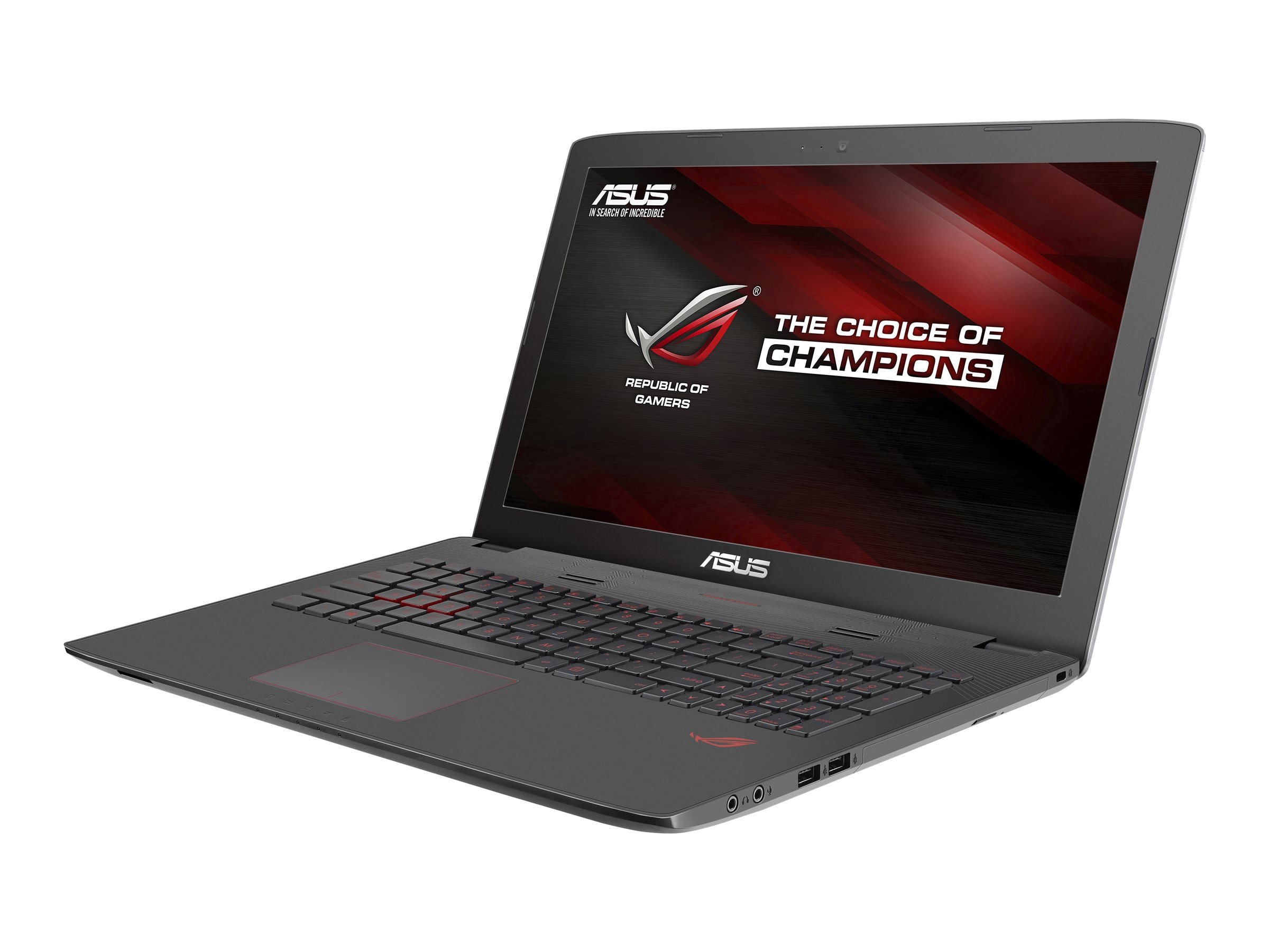 Asus GL752VW-DH71 17.3 Notebook PC, GL752VW-DH71, 30719059, Notebooks