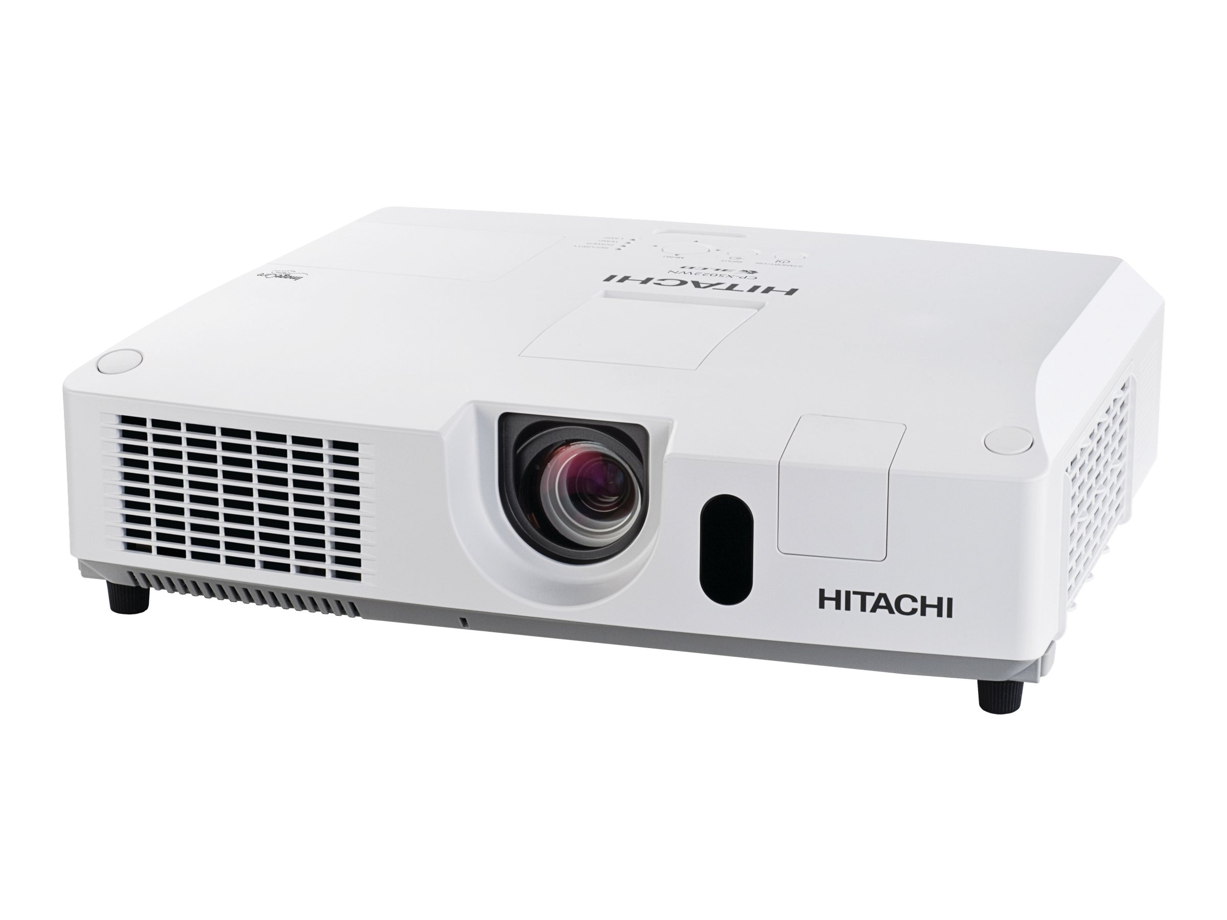 Open Box Hitachi CP-X5022WN XGA LCD Projector, 5000 Lumens, White, CP-X5022WN, 30844255, Projectors
