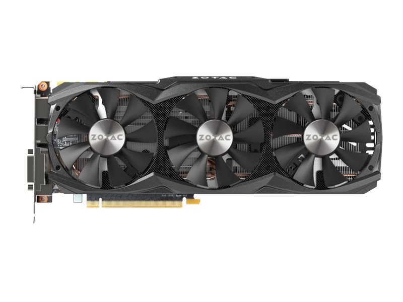 Zotac GeForce GTX 980 Ti AMP! PCIe 3.0 Graphics Card, 6GB GDDR5, ZT-90503-10P, 24746405, Graphics/Video Accelerators
