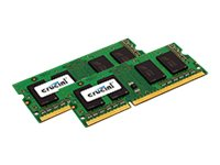 Crucial 2GB PC3-12800 204-pin DDR3 SDRAM SODIMM Kit