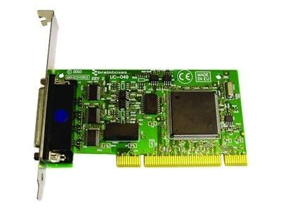 Brainboxes 4-Port RS232 PCI Serial Card Opto Isolated TX RX GND, UC-072