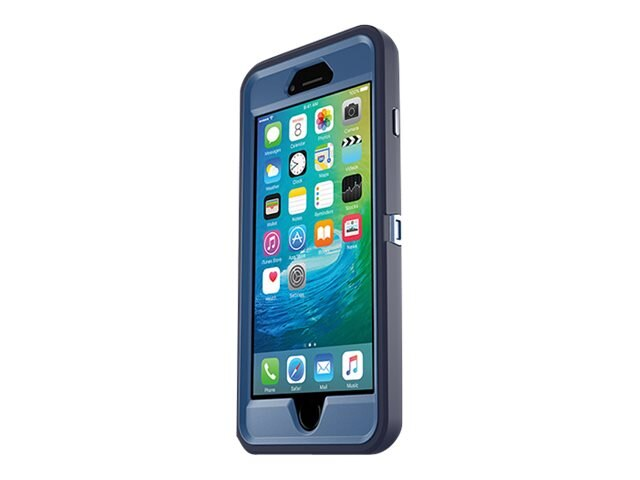 OtterBox iPhone 6s Plus Defender Series Case, Indigo Harbor, 77-52240, 30704092, Carrying Cases - Phones/PDAs