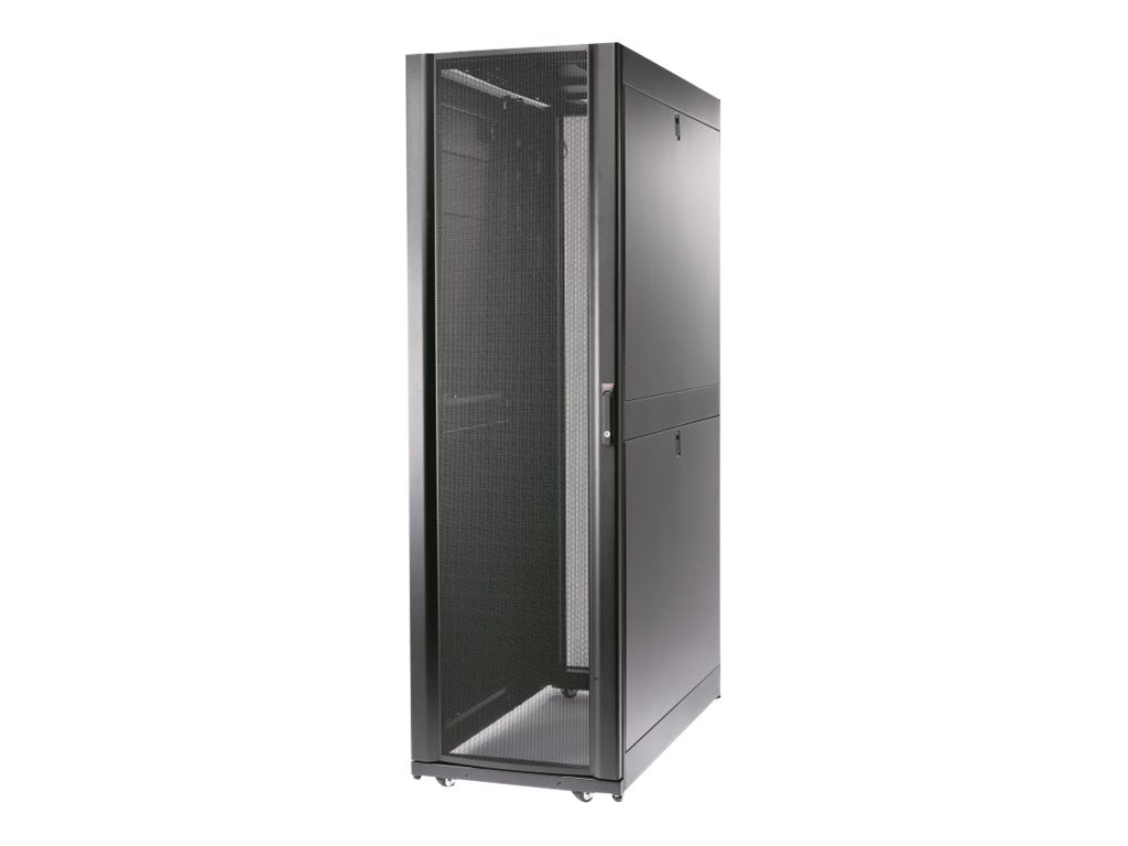 APC NetShelter SX 45U 600mm Wide x 1200mm Deep Enclosure with Sides, Black, AR3305, 13571603, Racks & Cabinets