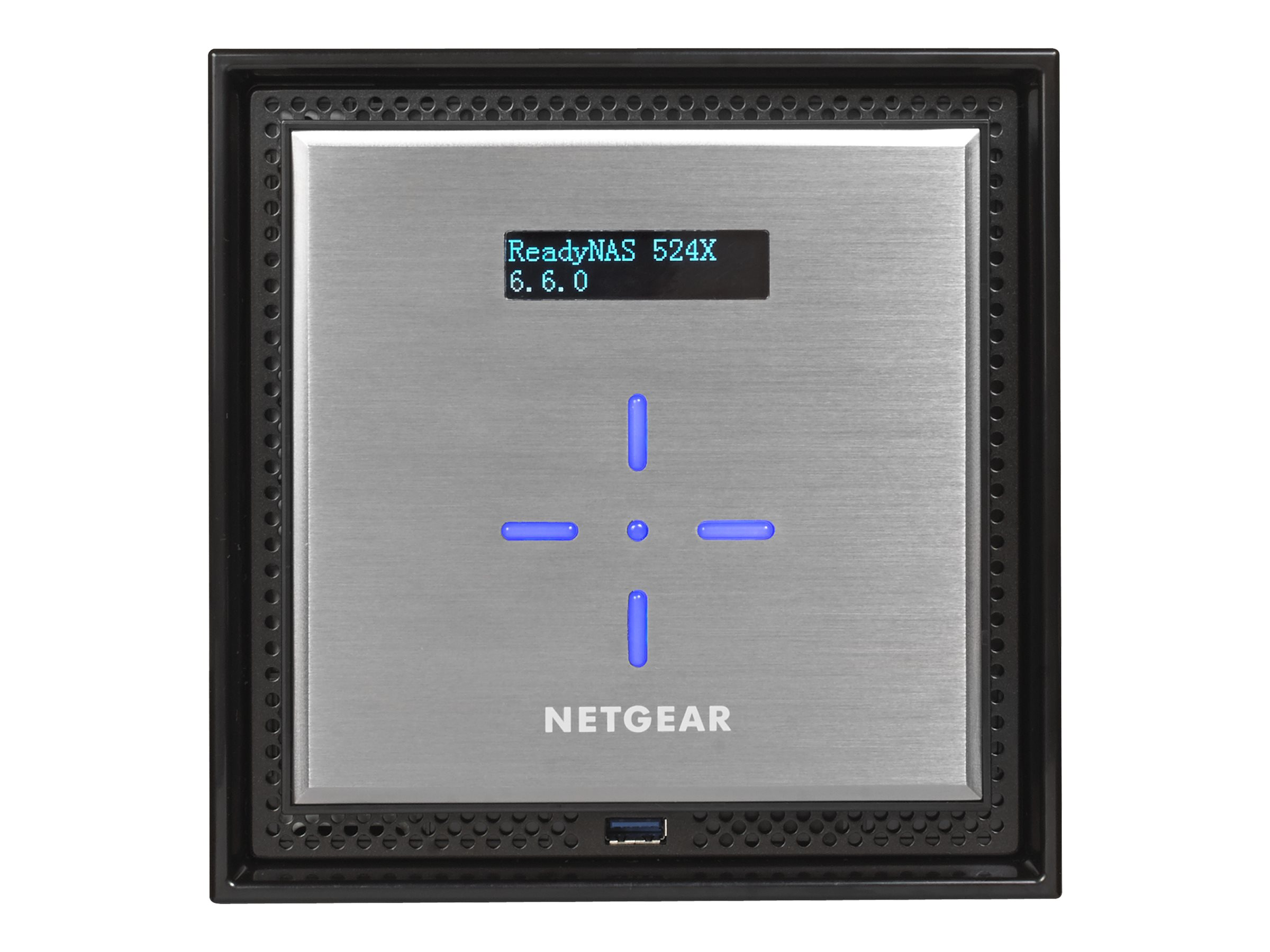 Netgear ReadyNAS 524X Premium Performance Business Data Storage - Diskless, RN524X00-100NES
