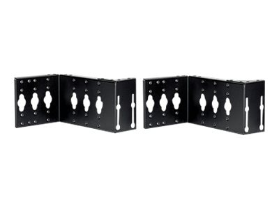 Panduit Net-Access N-Type PDU Bracket for 1000mm Wide Cabinets, Black, NVPDUB7018