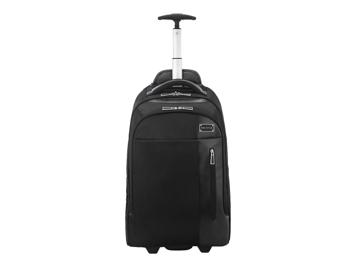 Eco Style Tech Exec Rolling Backpack.