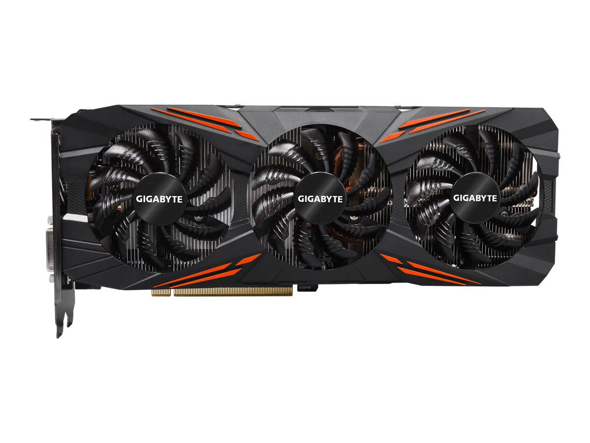 Gigabyte Tech Geforce GTX 1070 PCIe 3.0 x16 Graphics Card, 8GB GDDR5