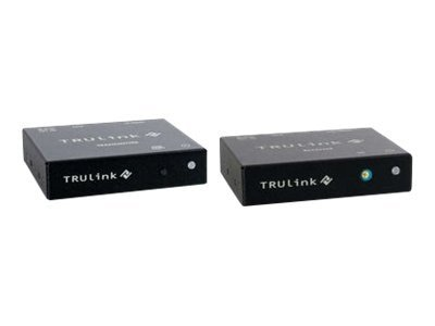 C2G TruLink VGA over UTP Box Transmitter and Box Receiver Kit, 29387, 13442220, Video Extenders & Splitters