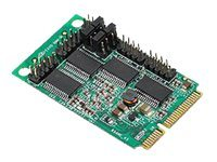 Siig 4 Serial Mini PCIe RS232 16950 Controller w  Power Mini Board