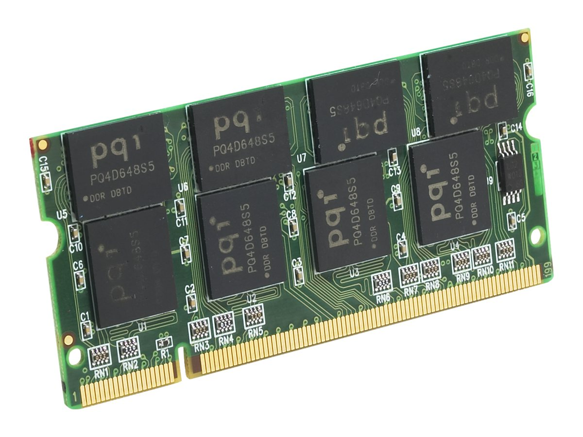 Edge 1GB PC2700 200-pin DDR SDRAM SODIMM, PE195564, 4739427, Memory