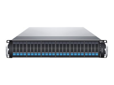 Sans Digital 24-Bay 2U 24X512GB SAS SATA Solid State Storage, KT-ES224X6BS512KG, 17335552, Solid State Drives - External