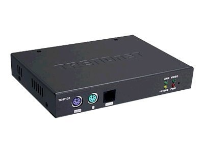 TRENDnet 1 Port KVM Switch Over IP, TK-IP101, 8659328, KVM Switches