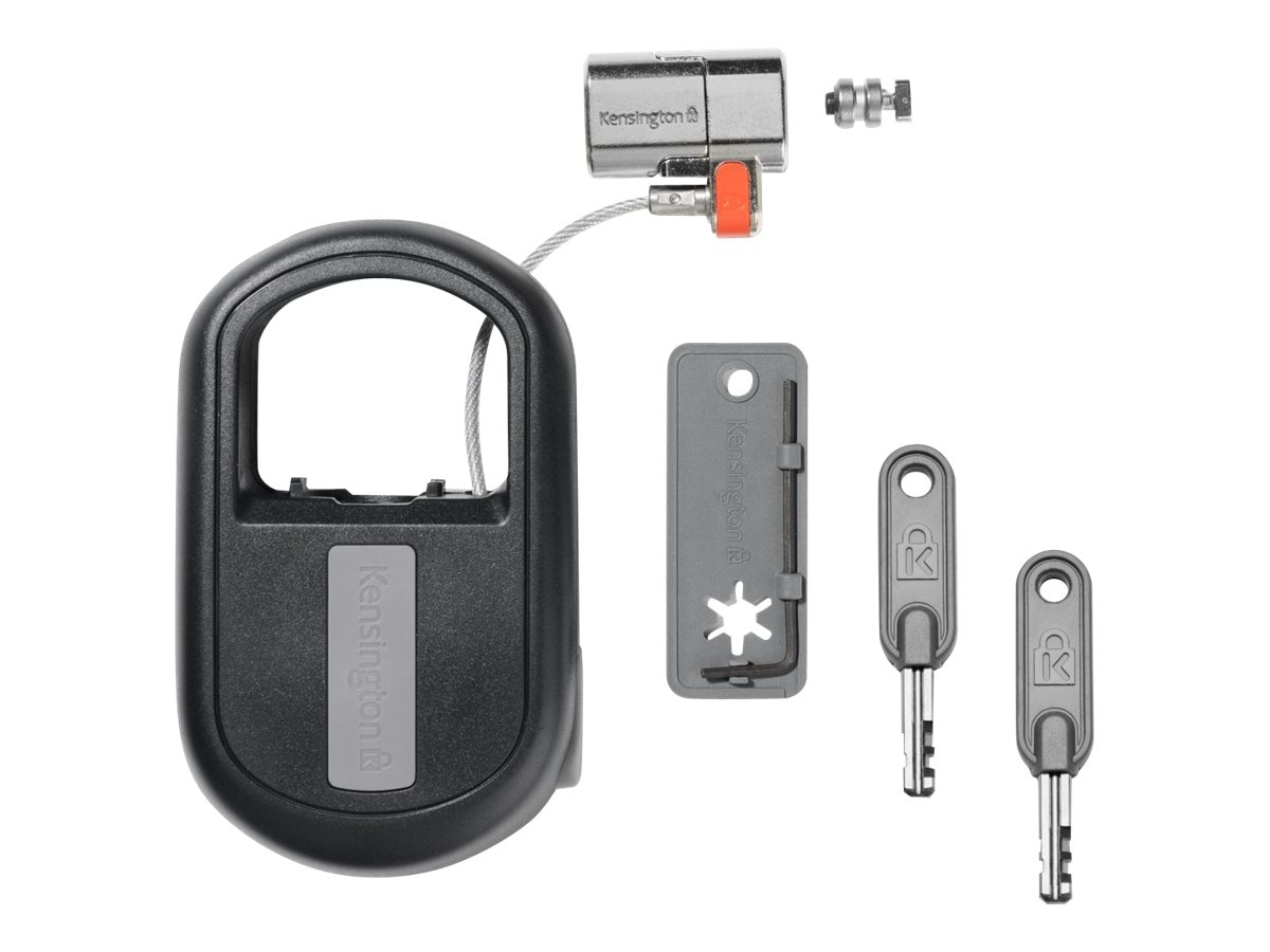 Kensington ClickSafe Retractable Keyed Lock, K64955WW