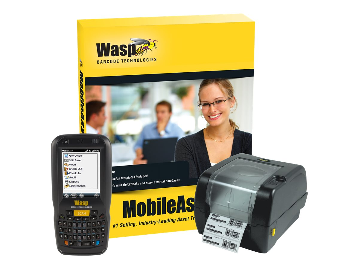 Wasp MobileAsset Standard with DT60 & WPL305 (1-user), 633808927493, 17410938, Portable Data Collector Accessories