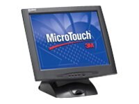 3M 17 M1700SS Touch LCD Monitor, Black, Serial, 11-91378-227, 9660523, Monitors - LCD