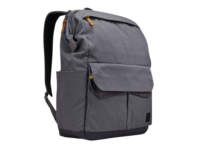 Case Logic LoDo Medium Backpack, Graphite, LODP114GRAPHITE, 30640130, Carrying Cases - Notebook